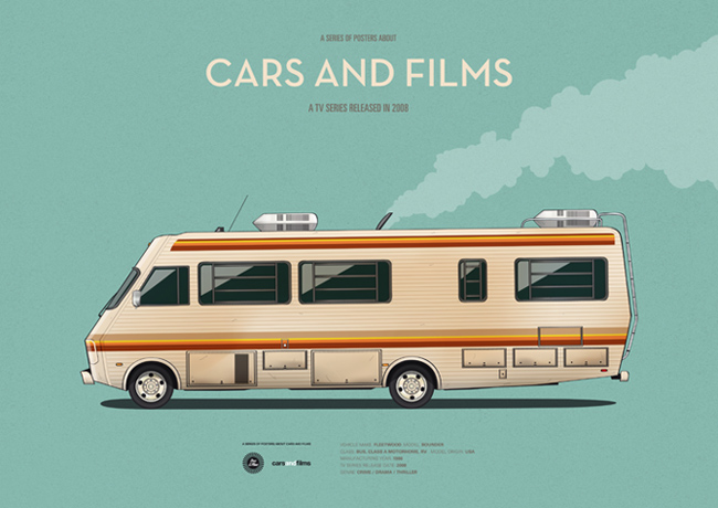 CarsAndFilms  Breaking Bad RV